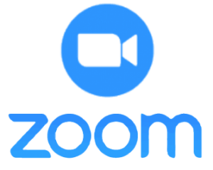 Zoom video conference tool